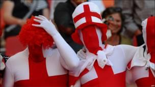 Фанаты английской сборной