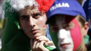 Aficionados italianos