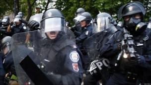 Полиция в Торонто