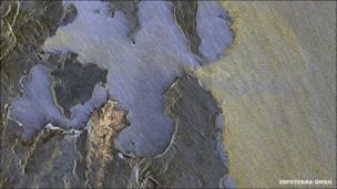 Madagascar desde el espacio (Foto: INFOTERRA GMBH)