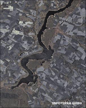Ucrania desde el espacio (Foto: INFOTERRA GMB)