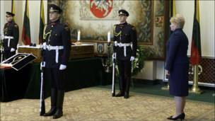 Похороны Бразаускаса