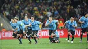 Celebración de Uruguay