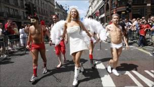 Desfile en Londres.