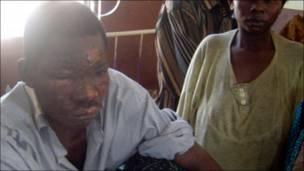 Hotunan gobarar tankar mai a Congo