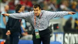Карлос Дунга, тренер сборной Бразилии