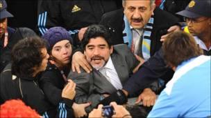 Диего Марадона, тренер сборной Аргентины