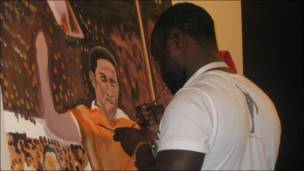 exhibition painting