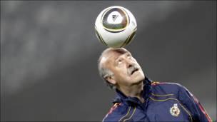 Винсенте дель Боске, тренер сборной Испании