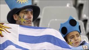 El desaliento de los aficionados uruguayos