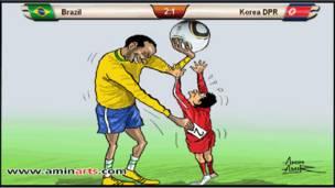 Brasil-Corea del Norte