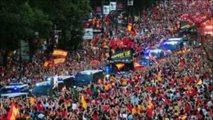 स्पेन के खिलाड़ी