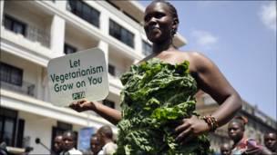 Protesta en Nairobi