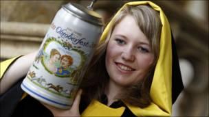 Presentación de cerveza en Alemania