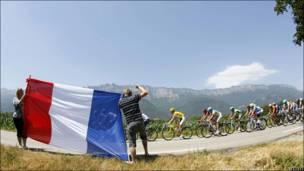 """десятый этап гонки """"Тур де Франс"""""""