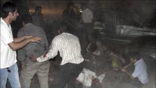 حادثه انتحاری در مسجدی در زاهدان