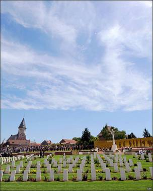 Cementario Militar de Fromelles, Francia