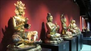 تبتی فن کا نمونہ