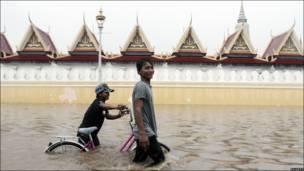 Inundación en Phnom Penh