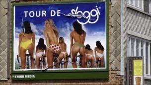 """Campaña de publicidad """"Tour de Sloggi"""""""