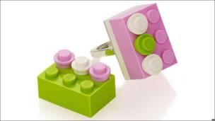 Joyeria de Lego Selfridges.