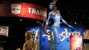 Íconos de Avatar y la Guerra de las Galaxias