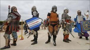 Gladiadores a la espera