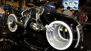 Motocicleta de Tron