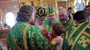 Высшее духовенство на Валааме
