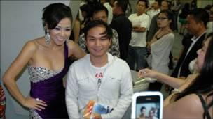 Thu Minh và fan