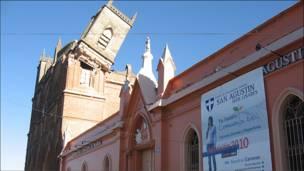 Iglesia Corazón de María, Linares