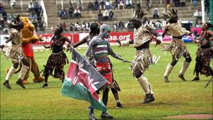 Apertura del campeonato africano de atletismo en Nairobi.
