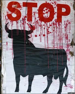 Protesta contra la tauromaquia