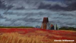 Cuadro de Kieran Williamson (imagen cortesía del artista)