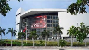 Estadio American Airlines Arena, en Miami, EE.UU.