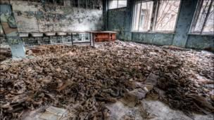 lớp học bỏ hoang