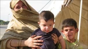 Niños afectados por las inundaciones en Pakistán (Fotos: Ahmed Reza)