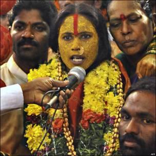"""Una ceremonia """"Rangam"""""""