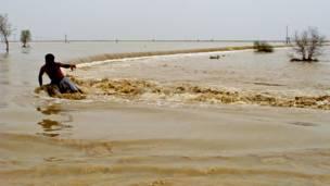 واعلنت الهيئة الباكستانية لادارة الكوارث الجمعة ان 12 مليون شخص تضرروا من الفيضانات في ولايتي البنجاب وخيبر بختونخوا وحدهما