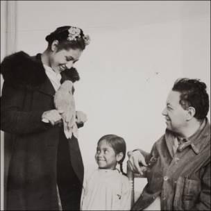 Diego Rivera, Nieves Orozco e Inesita