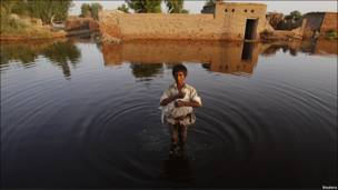 Evacuación en Pakistán