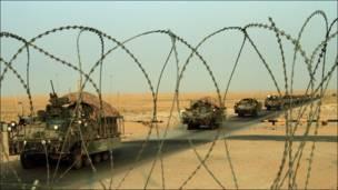 قوات امريكية تنسحب من العراق