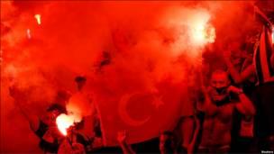 طرفداران تیم فوتبال فنرباغچه