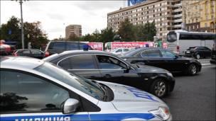 Площадка перед памятником А.С. Пушкину на Тверской улице
