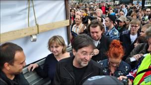 Шевчук уходит с Пушкинской площади