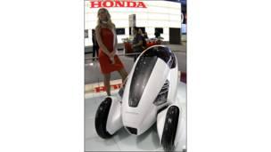 Honda 3R-C на московском автосалоне