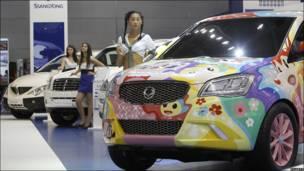 Автомобиль южнокорейской SsangYong
