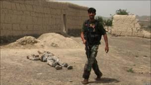 مأمور امنیتی افغان