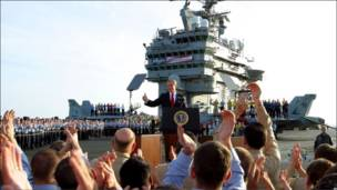 بوش: موفق شدیم