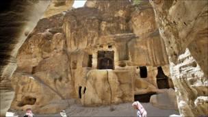 Siq al-Barid in Beidha, Jordania